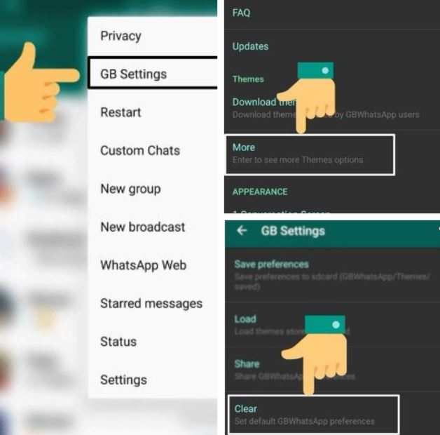 gb mods whatsapp themes download